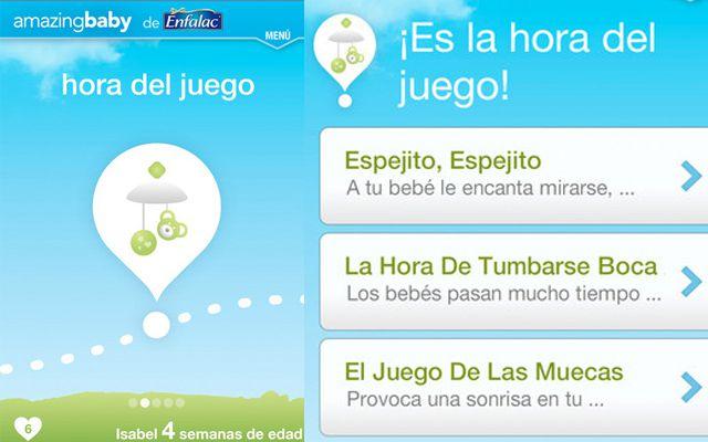 Amazing Baby, aplicación que estimula el desarrollo del bebé en su primer año