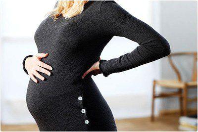 El dolor de espalda en el embarazo