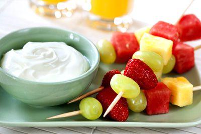 Snacks saludables para bebés