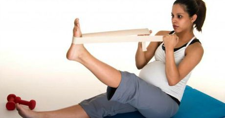 stretching en el embarazo
