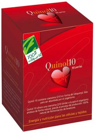 100% Natural Quinol 10 50mg 60 perlas