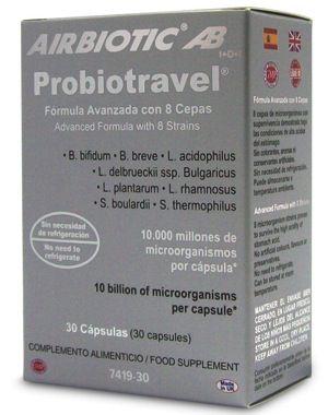 Airbiotic Probiotravel 30 cápsulas