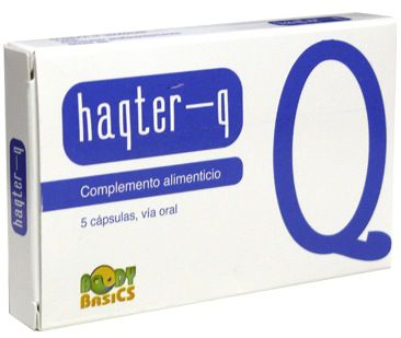 Haqter-Q 5 cápsulas
