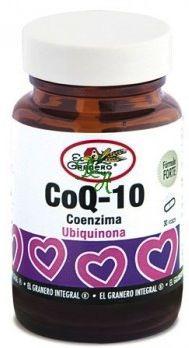 El Granero Integral Coenzima Q-10 30 cápsulas 630 mg