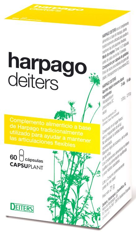 Deiters Harpago 60 cápsulas