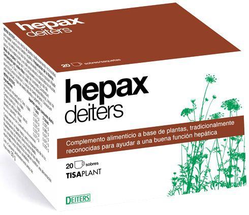 Deiters Hepax infusión 20 sobres