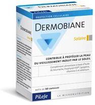 Pileje Dermobiane Solar 60 cápsulas