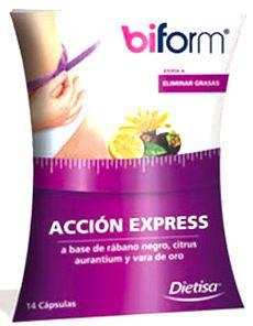 Dietisa Biform Accion Express (Accion 7 Dias) 14 cápsulas