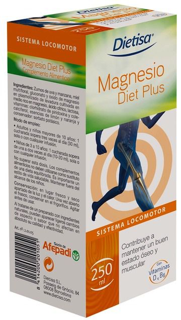 Dietisa Magnesio Diet Plus 250ml