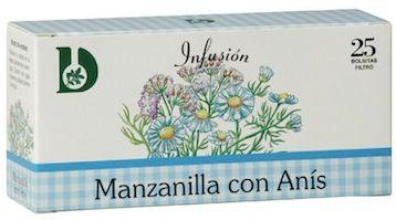 Dimefar Infusión Manzanilla con Anís 25 sobres
