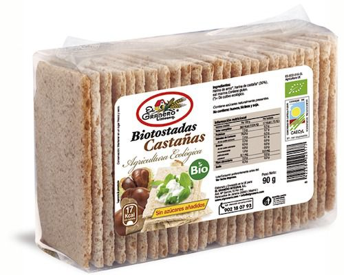 El Granero Integral Biotostadas Castaña 90g