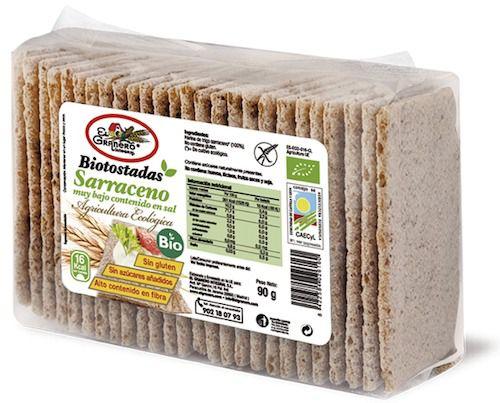 El Granero Integral Biotostadas Trigo Sarraceno S/Sal 90g