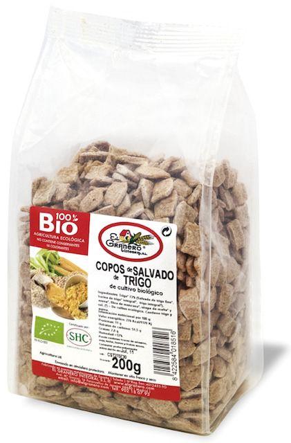 El Granero Integral Copos Salvado de Trigo Bio 200g