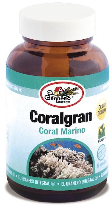 El Granero Integral Coralgran-Coral de Okinawa 60 cápsulas 610mg