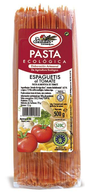 El Granero Integral Espaguetis al Tomate Bio 500g