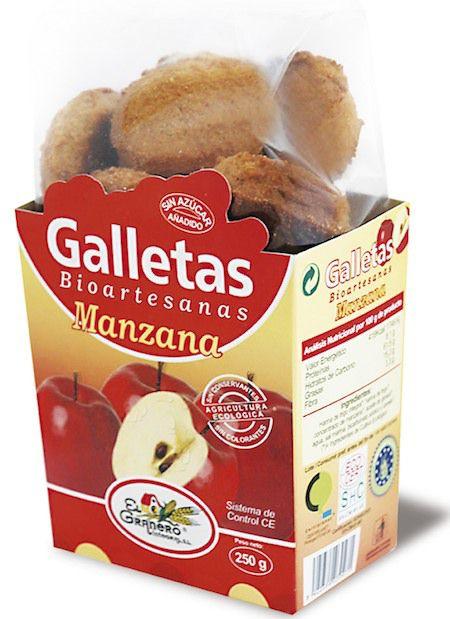 El Granero Integral Galletas Bioartesanas Manzana 250g