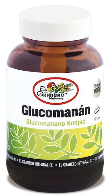 El Granero Integral Glucomanan 90 cápsulas 610mg