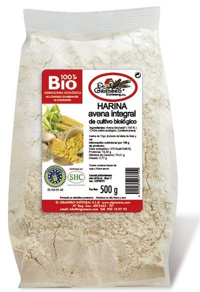 El Granero Integral Harina de Avena Integral Bio 500g