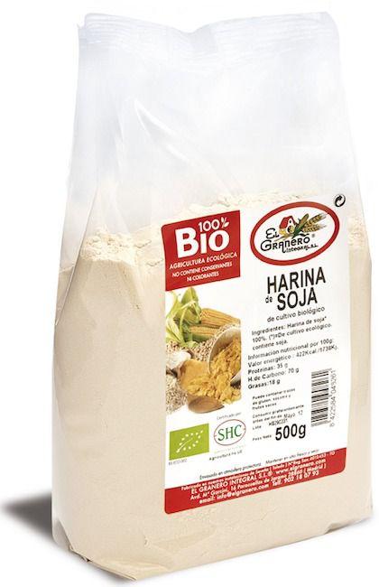 El Granero Integral Harina Soja Bio 500g