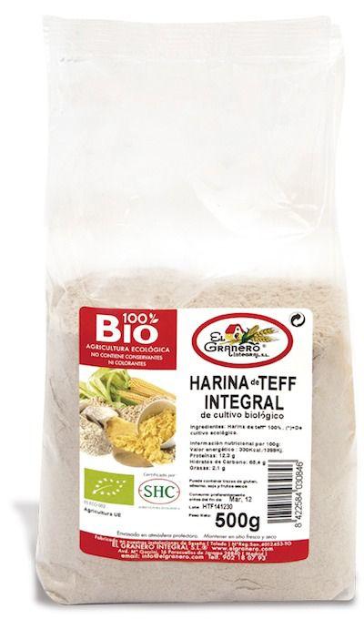 El Granero Integral Harina Teff Integral Bio 500g