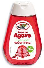 El Granero Integral Sirope de Agave Bio Fresa 335g