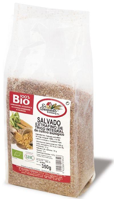El Granero Integral Salvado Trigo Extrafino Bio 350g