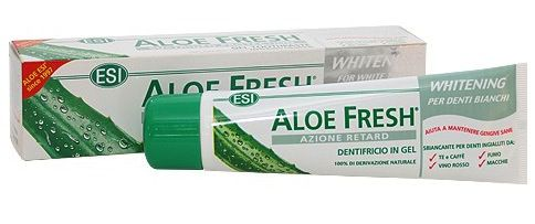 ESI Aloe Fresh Retard Dentrífico Blanqueador 100ml