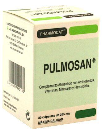 Fharmocat Pulmosan 30 cápsulas