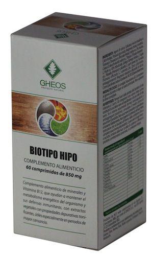 Gheos Biotipo Hipo 60 comprimidos