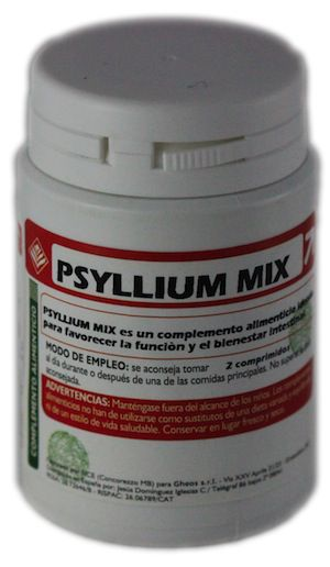 Gheos Psyllium Mix comprimidos