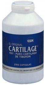 GSN Cartilage 740mg 270 cápsulas