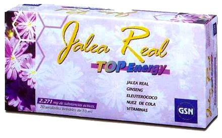 GSN Jalea Real Top Energy 2071mg 20 ampollas