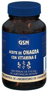 GSN Onagra Vitamina E 510mg 180 perlas