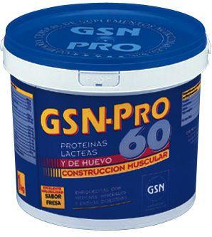 GSN Pro 60 sabor fresa 1Kg