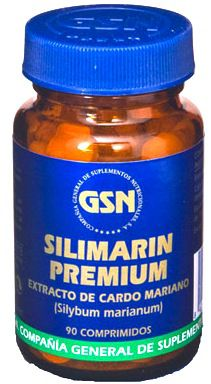 GSN Silimarin Premium 90 comprimidos