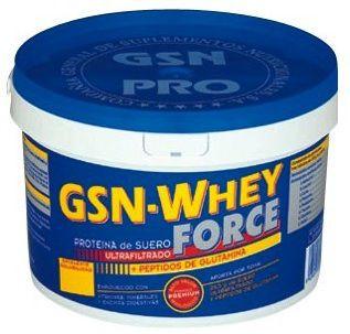 GSN Whey Force sabor fresa 900g