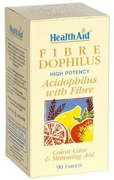 Health Aid Fibra Dophilus 90 comprimidos