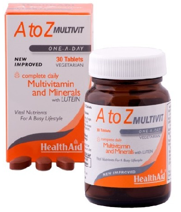 Health Aid Multivit A - Z  90 comprimidos