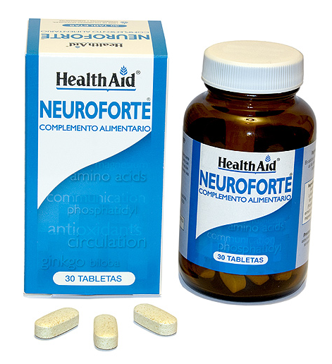Health Aid Neuroforte 30 comprimidos