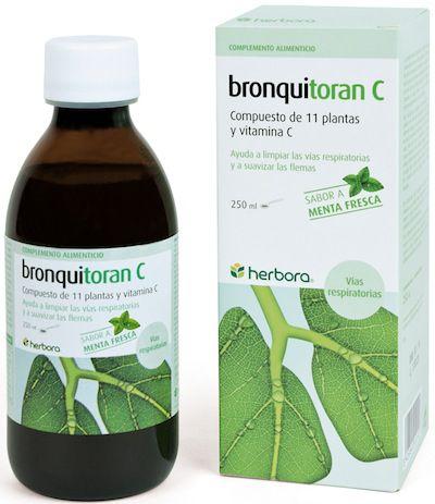 Herbora Bronquitoran C Jarabe 250ml