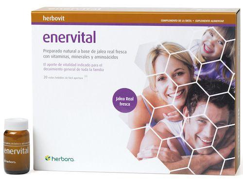 Herbora Enervital Jalea Real 20 ampollas