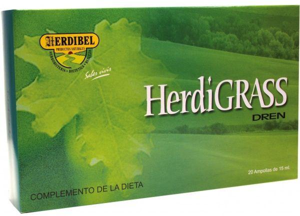 Herdibel Herdigrass Dren 20 ampollas