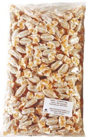 Intersa Caramelos Miel y Limón 1kg