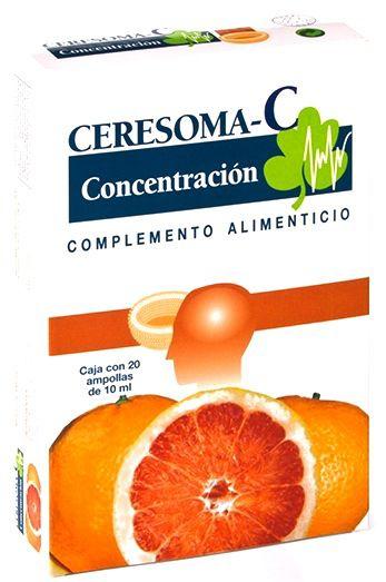 Intersa Ceresoma C Concentración y Atención 20 ampollas