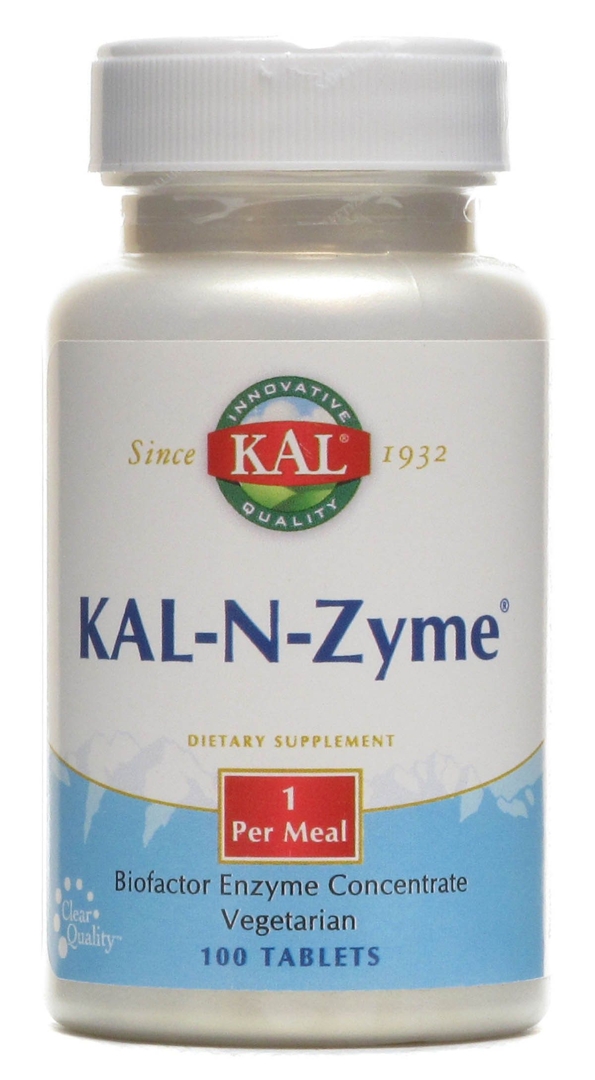 KAL N-Zyme 100 comprimidos