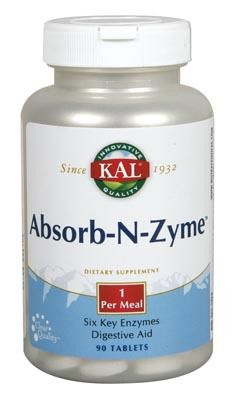 KAL Absorb-N-Zyme 90 comprimidos
