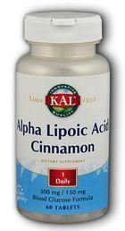 KAL Ácido Alfa Lipoico con Canela 60 comprimidos