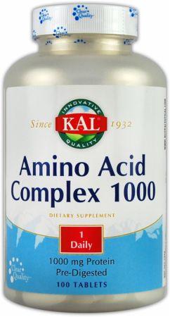 KAL Amino Acid Complex 1000 100 comprimidos