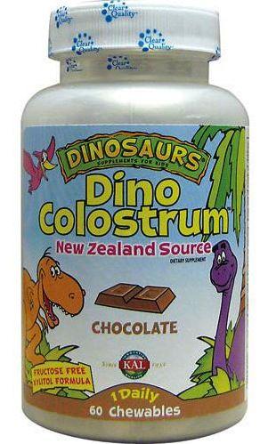 KAL Dino Colostrum 60 masticables sabor chocolate