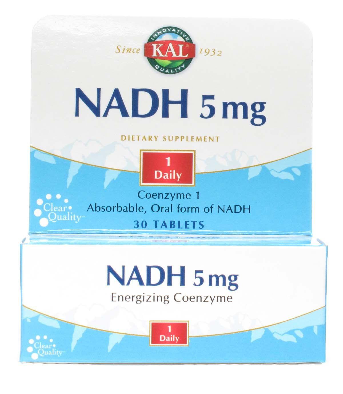 KAL NADH 5mg 30 comprimidos